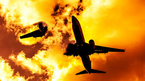 к чему снится взрыв самолета